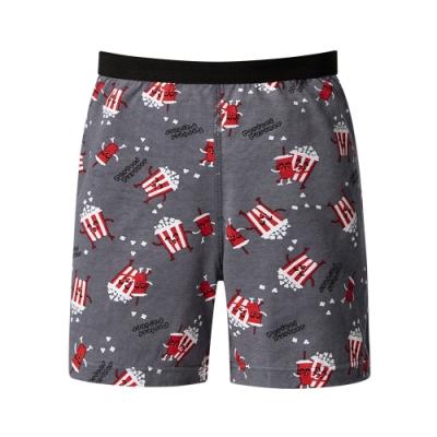 DADADO 最佳搭檔 140-160男童內褲(灰) 品牌推薦 舒適寬鬆 四角男褲