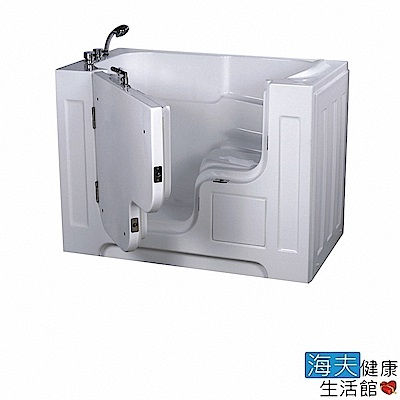 海夫 開門式浴缸 大開口 115A-T 恆溫水柱按摩款 (132*74*102cm)
