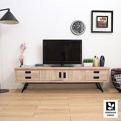 多瓦娜 瑞克6尺電視櫃/二色-寬182x深40.5x高48公分