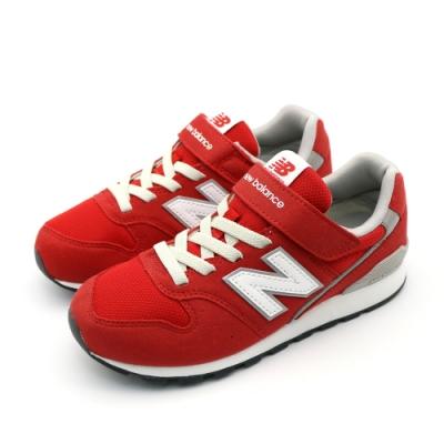 NEW BALANCE 中大童休閒鞋-YV996CRD-W