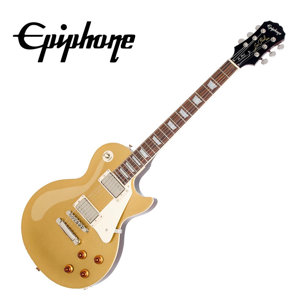 Epiphone LP STD Goldtop 電吉他 黃金色款