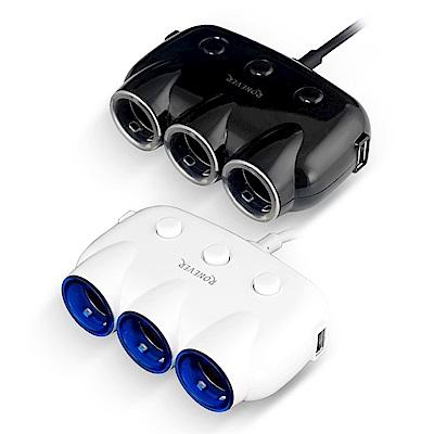 RONEVER PE007 3.1A獨立開關車用USB充電器
