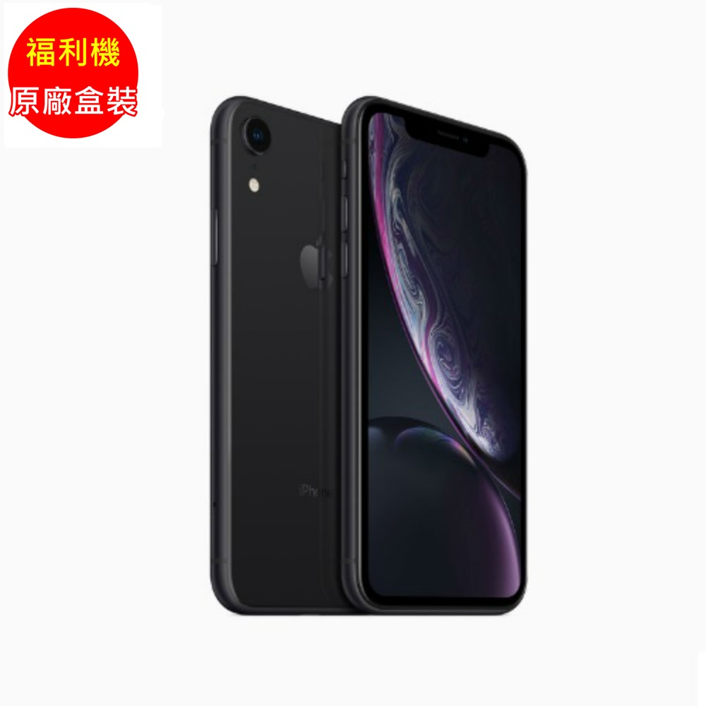 (福利品) iPhone XR 64G 黑色 (MRY42TA/A)_九成新 product image 1