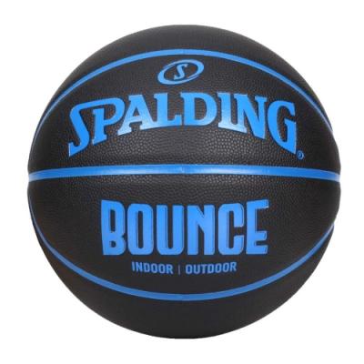 SPALDING BOUNCE 籃球-PU-7號球 室內 戶外 訓練 運動 斯伯丁 SPB91004 黑藍