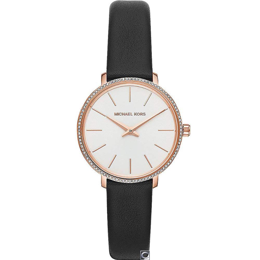 Michael Kors典雅氣質晶鑽女錶(MK2835)33mm