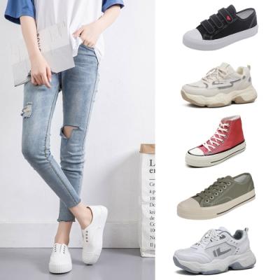 [時時樂限定]韓國KW美鞋館 獨家限量下殺-外出必備百搭休閒鞋