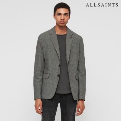 ALLSAINTS CHILTERN 修身亞麻混紡西裝外套