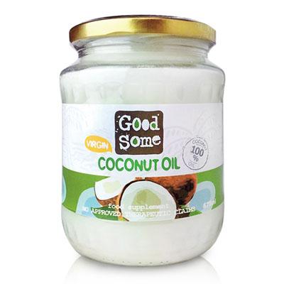 GoodSome 第一道冷壓椰子油(675ml)