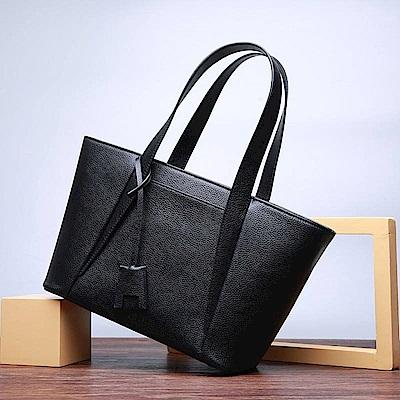 米蘭精品 手提包真皮肩背包-時尚俐落大方斜背女包母親節生日禮物2色73md80
