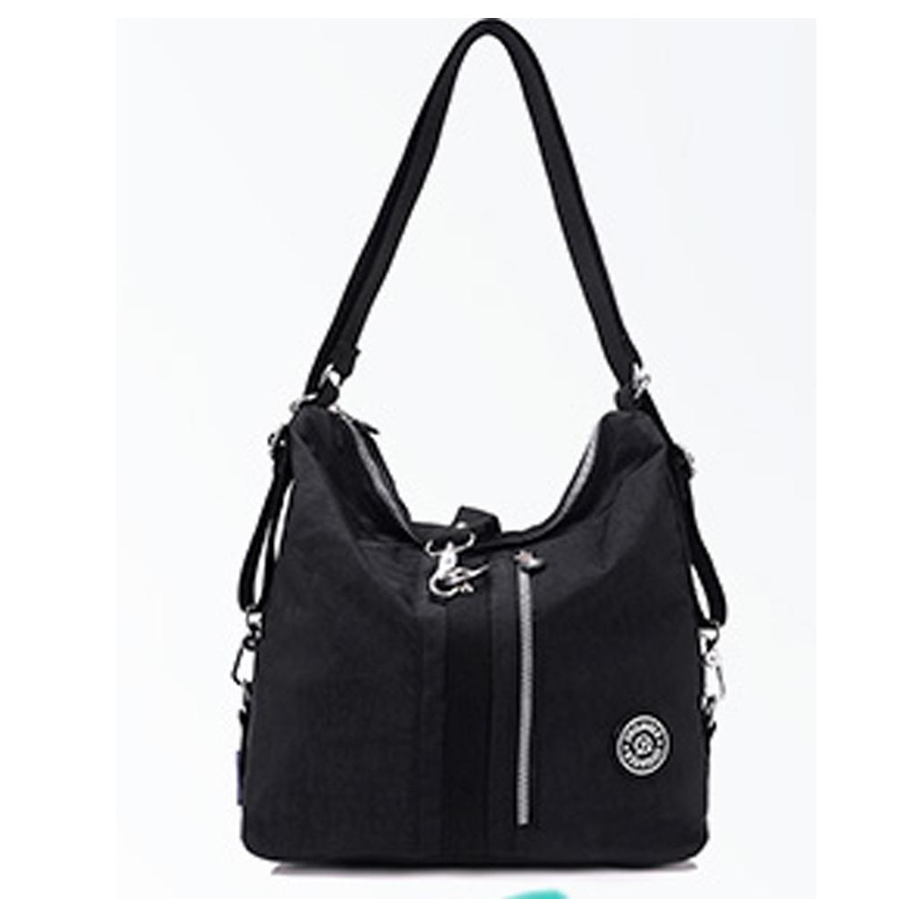 YS9822BK潮流百搭三用後背包.手提包 .側背包 .休閒包黑色