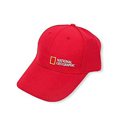 國家地理棒球帽-紅色