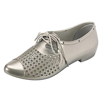 MELISSA 帥氣中性型鞋-銀
