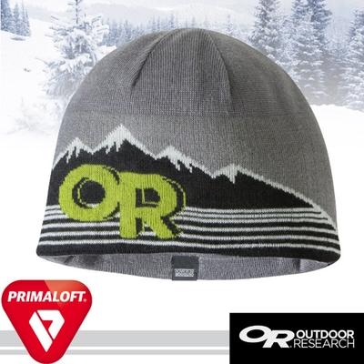 Outdoor Research 經典 Advocate Beanie 輕量透氣抗水毛織雙層保暖帽子_灰