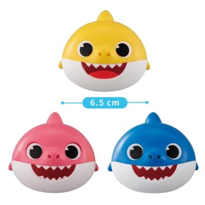 【BANDAI】扭蛋轉蛋 鯊魚家族 Baby Shark 一組3入