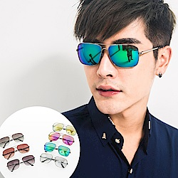 BuyGlasses 熱銷長型金屬框太陽眼鏡