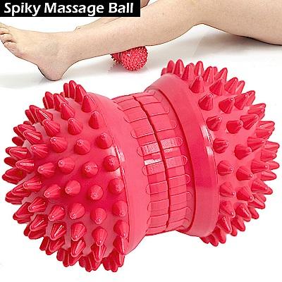 特硬紓壓花生按摩球 穴位筋膜球 刺刺球 台灣製造