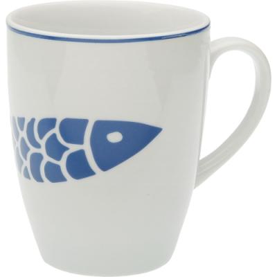《VERSA》瓷製馬克杯(藍魚350ml)
