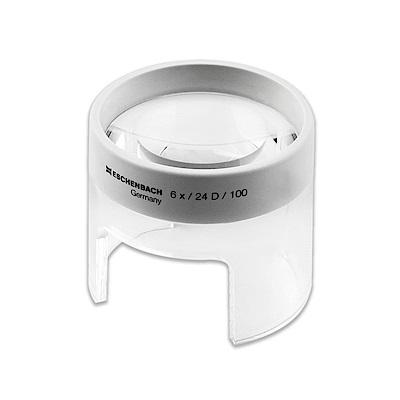 【Eschenbach】6x/23D/50mm 德國製立式杯型非球面放大鏡 2626