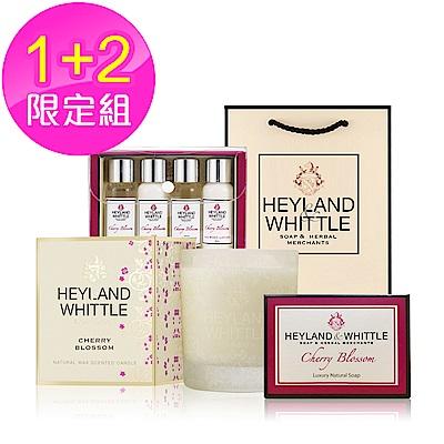 H&W 英倫薇朵 愛戀櫻花1+1限定組
