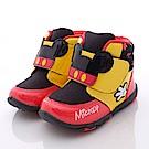 迪士尼童鞋 淘氣米奇短靴款 FO54610黑(中小童段)
