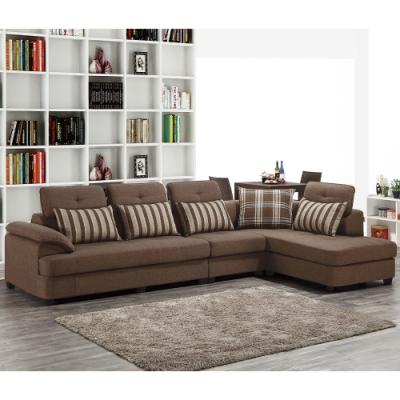 H&D 蘭迪L型布沙發