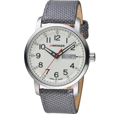 WENGER Attitude態度系列簡單生活時尚腕錶(01.1541.106)