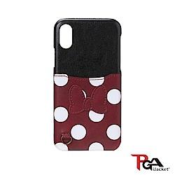 iPhone XR 6.1吋 海外限定 迪士尼 口袋造型 手機殼-米妮
