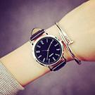 薄型簡約復古數字潮流經典腕錶 (2色任選)