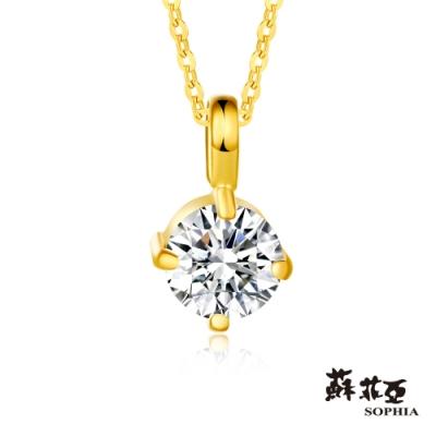 蘇菲亞SOPHIA - G LOVER系列簡單愛黃金項鍊