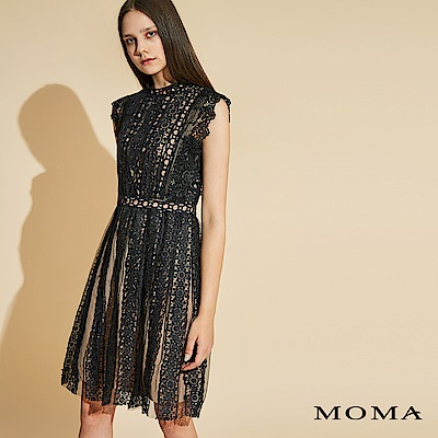 MOMA 無袖蕾絲洋裝