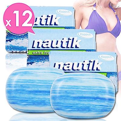 德國Kappus海洋墨角藻緊緻嫩白皂125g超值12入組