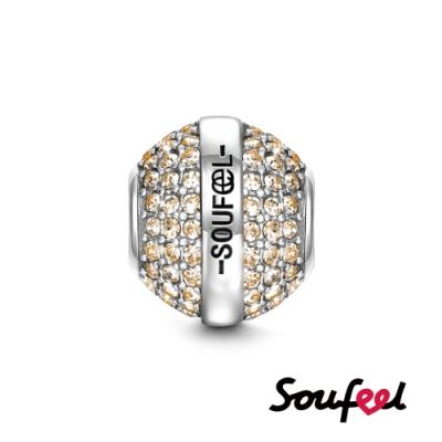 SOUFEEL索菲爾 925純銀珠飾 生日石 十一月 串珠