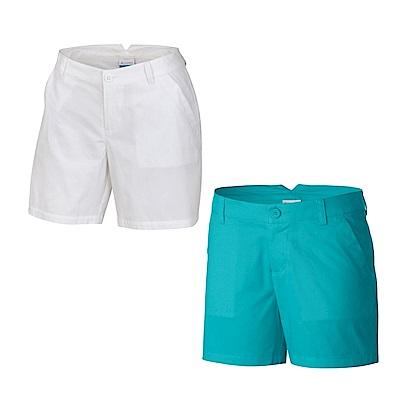 Columbia 哥倫比亞 女款-防曬30 短褲-2色