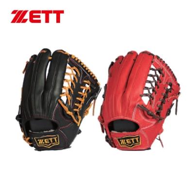 ZETT 高級硬式金標全指手套 13吋 外野手用 BPGT-238