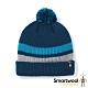 SmartWool 孩童 條紋毛球保暖毛帽 靛藍色 product thumbnail 1