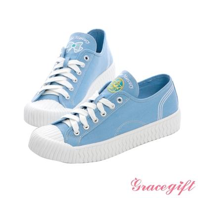Grace gift-美少女戰士水星帆布餅乾鞋 淺藍