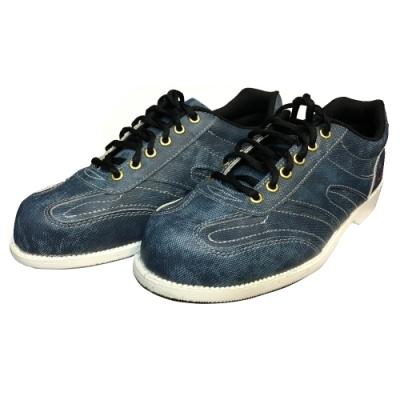 【DJ80嚴選】Ackino 牛仔紋時尚風-男用高級保齡球鞋(右手專用-台灣製)