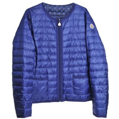 MONCLER MIEL系列經典羽絨車縫雙面用外套(4號/女款)