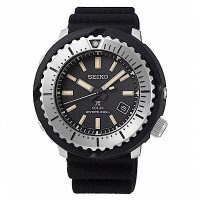 SEIKO 精工PROSPEX 小鮪魚太陽能潛水錶(SNE541P1)