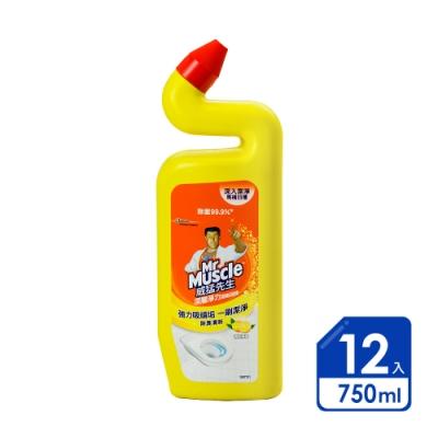 威猛先生 潔廁劑清新檸檬750ml(12入/箱)