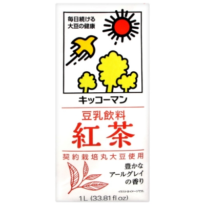 龜甲萬 龜甲萬豆乳-紅茶風味(1000ml)
