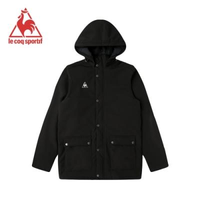 法國公雞牌鋪棉外套 LWI6190299-男-黑
