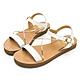 PLAYBOY 悠閒夏日 柔軟真皮涼鞋-白-Y630211 product thumbnail 1