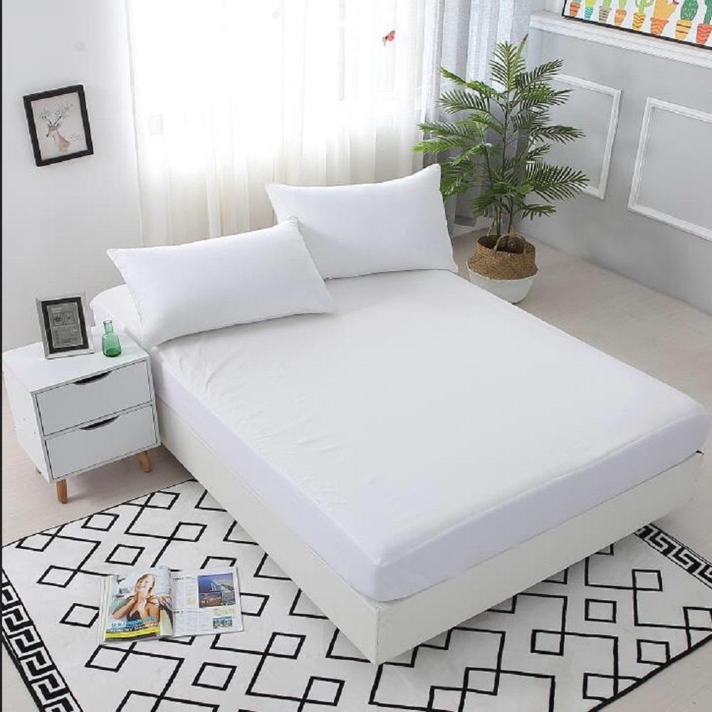 Bear愛睡.熊~台灣製 防潑水床包式保潔墊 單/雙/加大均價