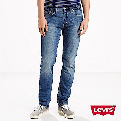 Levis 男款 511 低腰修身窄管牛仔長褲 水洗藍