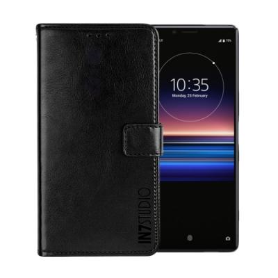 IN7 瘋馬紋 SONY Xperia 1 (6.5吋) 錢包式 磁扣側掀PU皮套 手機皮套保護殼