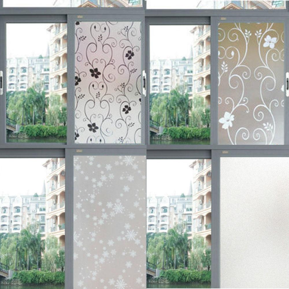 居家印花 浴室玻璃窗戶貼紙/不透明貼紙/貼膜