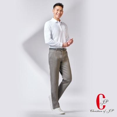 Christian 戶外輕機能彈力休閒褲_  灰綠(HW705-1)