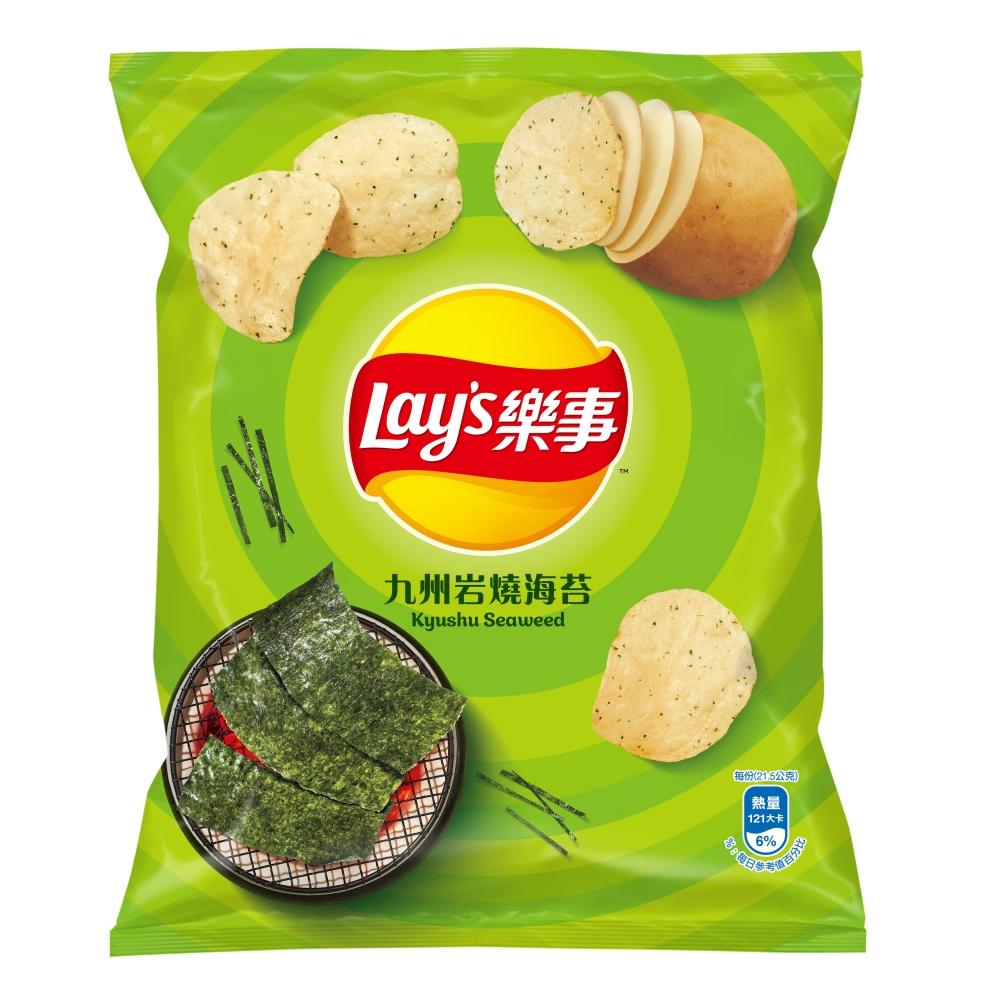 樂事 九州岩燒海苔味洋芋片(43g)