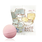 日本NOL-療癒的柴犬(Line貼圖)入浴球4入(附可愛公仔/聖誕禮物/交換禮物)